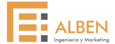 Logo ALBEN Ingeniería y Marketing Asturias
